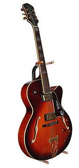 une guitare Epiphone ES-175 (guitare acoustique)
