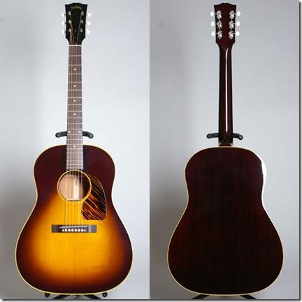 Guitar HJ-2009 Special Limited - La bande tracée au dos du manche vous indique où placer votre pouce - Photo Japan Vintage Guitar