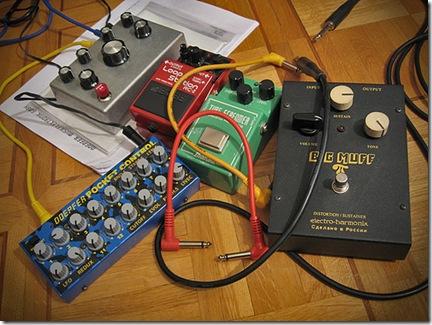 Effets et multi-effets vous permettent d'enrichir le son de votre guitare électrique - Photo furibond