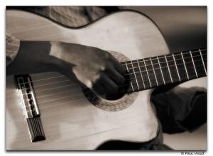 Quelques exercices pour la guitare - Photo de Paul Wood