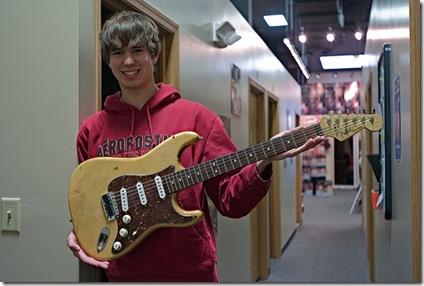 En suivant une méthode de guitare vous progresserez efficacement - Photo : Maggie Osterberg