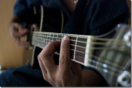 Les principaux accords de guitare - Photo enqqul