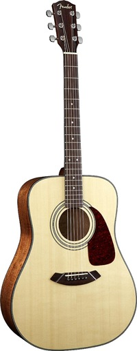 Exemple de guitare acoustique Fender - Photo Fender